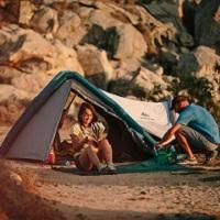 Noite para 1 ou 2 pessoas em tenda de campismo!