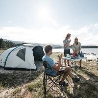 Noite em tenda para 2 pessoas + parque p/ Viatura!