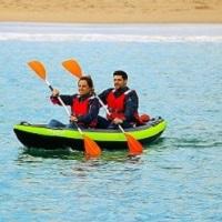 Baptismo de Kayak para duas pessoas!