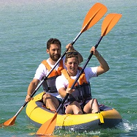 Passeio de Kayak a dois!