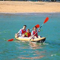 1 volta de Canoa para duas pessoas!